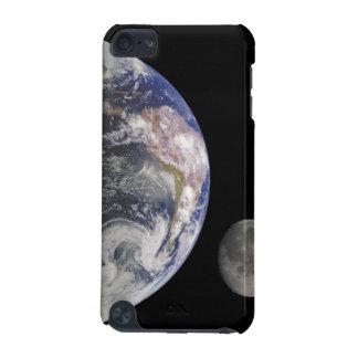 Tierra y luna en caso de encargo del tacto de iPod Funda Para iPod Touch 5G