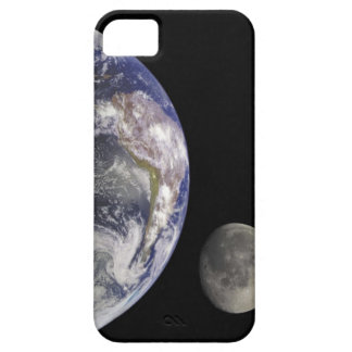 Tierra y luna funda para iPhone SE/5/5s