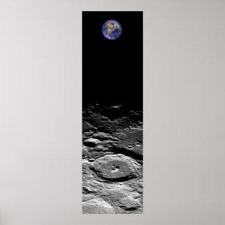 Tierra y luna posters