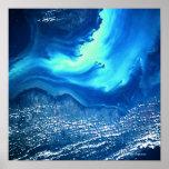 Tierra y mar del espacio 2 póster