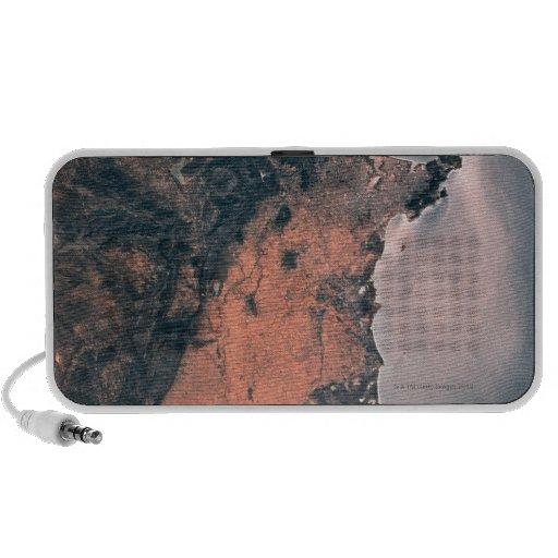 Tierra y mar del espacio 3 iPod altavoz