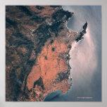 Tierra y mar del espacio 3 póster