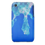 Tierra y mar del espacio funda bareyly there para iPhone 3 de Case-Mate