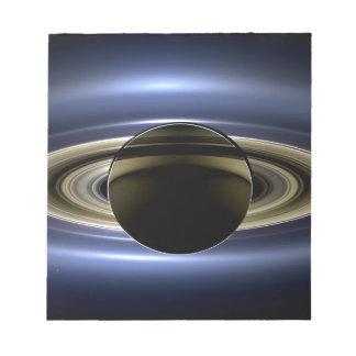 Tierra y Saturn Libretas Para Notas