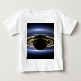 Tierra y Saturn Playera De Bebé