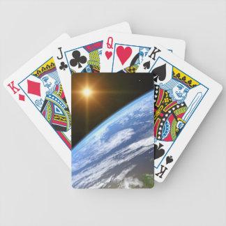 Tierra y una estrella brillante 3 barajas