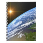 Tierra y una estrella brillante 3 libros de apuntes