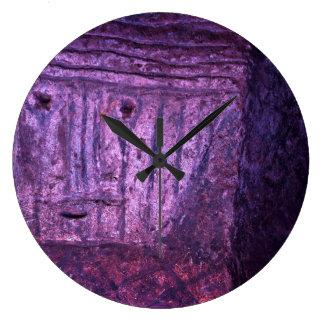 Tierradentro Details Large Clock