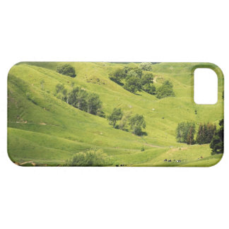 Tierras de labrantío cerca de Gisborne, Nueva Zela iPhone 5 Case-Mate Cárcasas