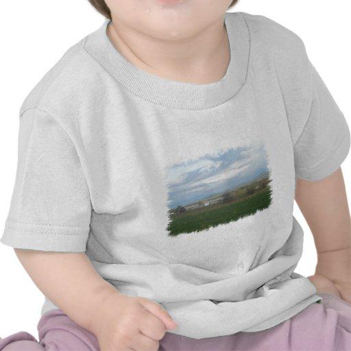 Tierras de labrantío de California Camisetas