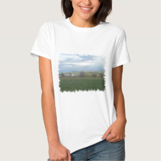 Tierras de labrantío de California Polera