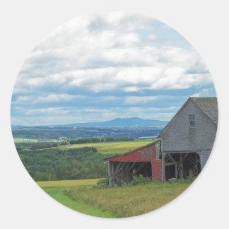 Tierras de labrantío de Maine Etiquetas