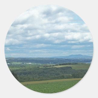 Tierras de labrantío de Maine Pegatina