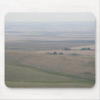 Tierras de labrantío de Oregon Alfombrillas De Raton