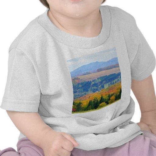 Tierras de labrantío del condado camisetas