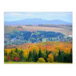Tierras de labrantío del condado tarjetas postales