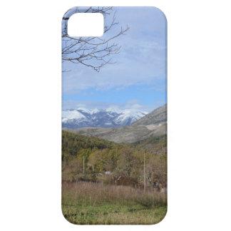 Tierras de labrantío en invierno en Calabria iPhone 5 Case-Mate Funda