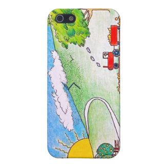 Tierras de labrantío iPhone 5 funda