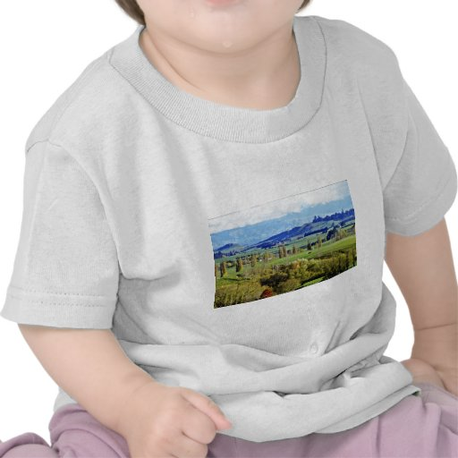 Tierras de labrantío, Hastings, isla del norte Camiseta