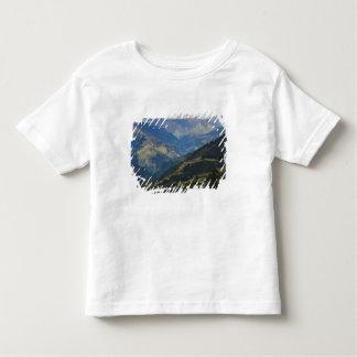 Tierras de labrantío y pueblo en el Himalaya Tee Shirts