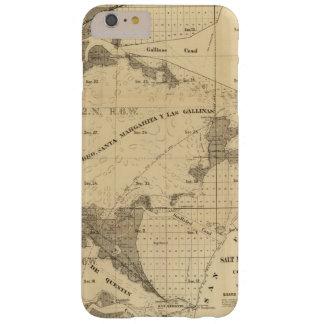Tierras del saladar y de la marea funda para iPhone 6 plus barely there