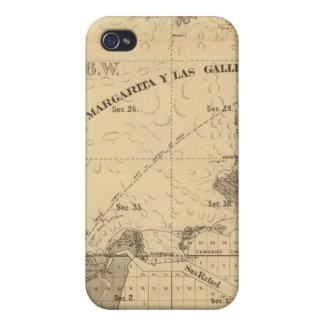 Tierras del saladar y de la marea iPhone 4 carcasa