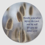 Tiesel - Humility Classic Round Sticker