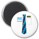 TieShirt034- Accountant copy Refrigerator Magnet