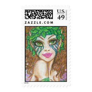 Tieve : Woodland Fairy Stamp by Faerydae