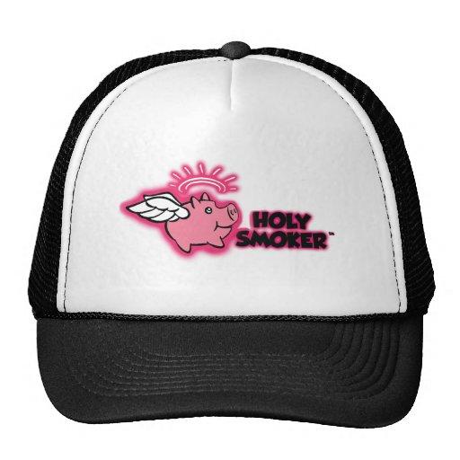 TIF santo del rosa del logotipo del fumador Gorros Bordados