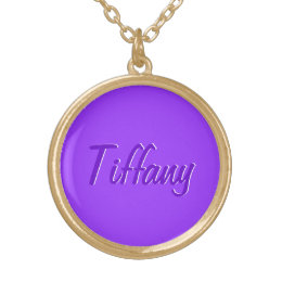 Tiffany accessories gold plated necklace