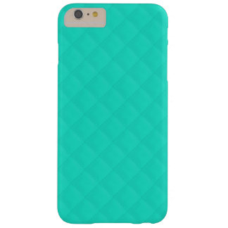 Tiffany Aqua Blue Quilted Pattern Barely There iPhone 6 Plus Case