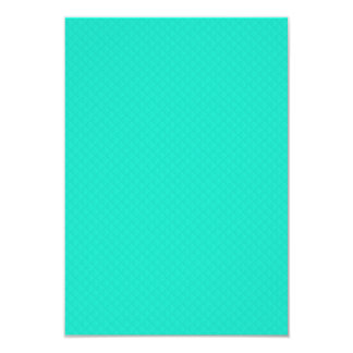 Tiffany Aqua Blue Quilted Pattern Custom Announcements