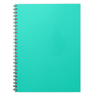 Tiffany Aqua Blue Quilted Pattern Notebooks