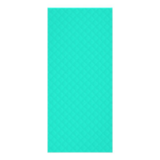 Tiffany Aqua Blue Quilted Pattern Rack Cards