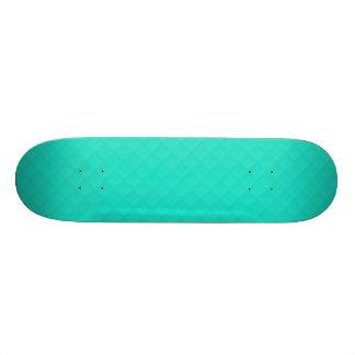 Tiffany Aqua Blue Quilted Pattern Skate Decks