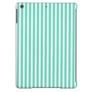 Tiffany Aqua Blue Sailor Stripes iPad Air Case