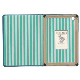 Tiffany Aqua Blue Sailor Stripes iPad Mini Retina Case