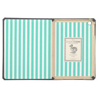 Tiffany Aqua Blue Sailor Stripes iPad Air Cases