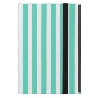 Tiffany Aqua Blue Sailor Stripes iPad Mini Case