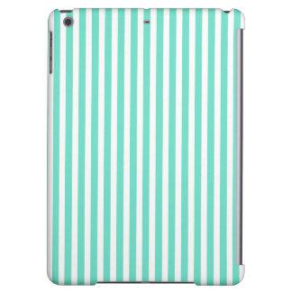 Tiffany Aqua Blue Sailor Stripes iPad Air Cover