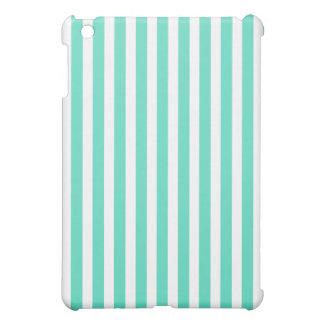 Tiffany Aqua Blue Sailor Stripes iPad Mini Cover