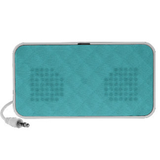 Tiffany Aqua Quilted Leather Portable Speakers