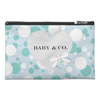 Tiffany Baby Party Polka Dot Travel Accessory Bag