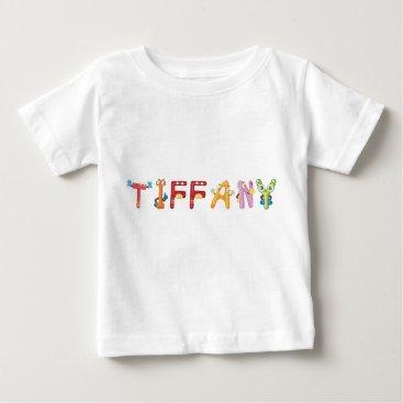 McTiffany Tiffany Aqua Tiffany Baby T-Shirt