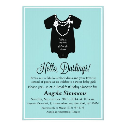 Tiffany Blue Baby Shower Invitations was very inspiring ideas you may choose for invitation ideas