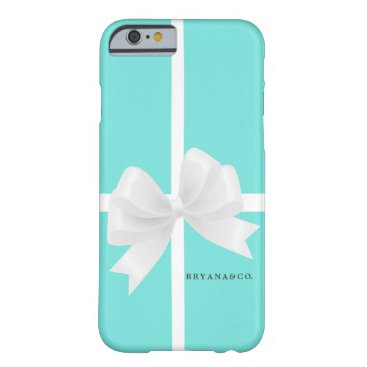 McTiffany Tiffany Aqua Tiffany Blue & BOW Glamour Glam PHONE CASE
