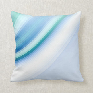 Tiffany blue decorative throw pillow