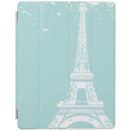 Tiffany Blue Eiffel Tower iPad Case