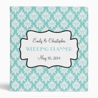 Tiffany Blue, For You Wedding Binder